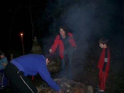 October Camping at Brian's