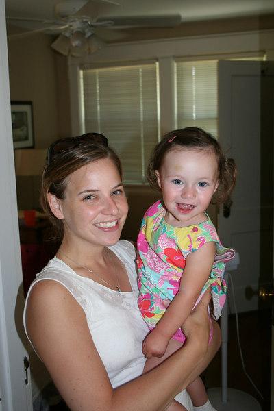 Two cute girls.