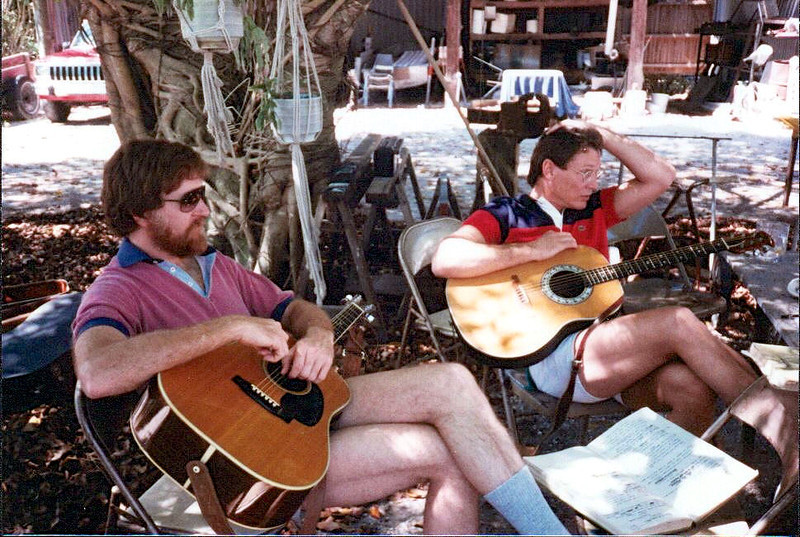 Sanibel - 1987: Bob Dylan Birthday Party