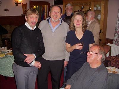 Paul Boughton, Mike Buckland, Marjorie then John Goldstone