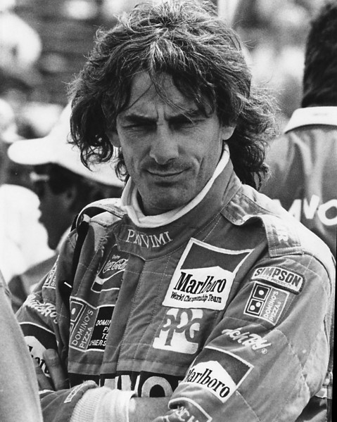 Arie Luyendyk at the Cleveland 500 in 1990.  One of the first photos I ever shot/processed/printed myself.