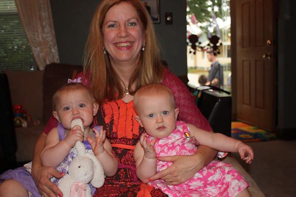 Olivia and Brianna's 1st Birthday