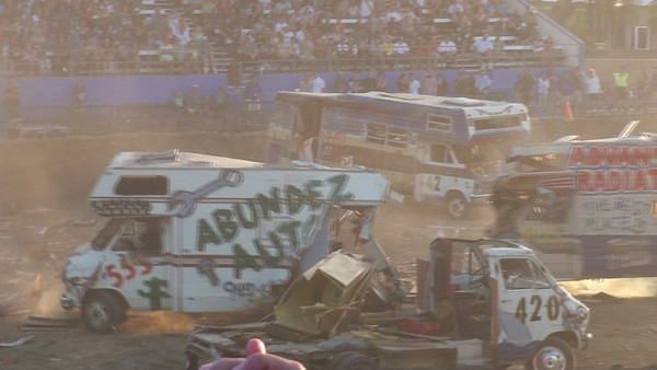 Motorhome Madness Demolition Derby