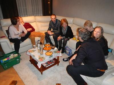 Oudjaar met vrienden 2014 - 2015