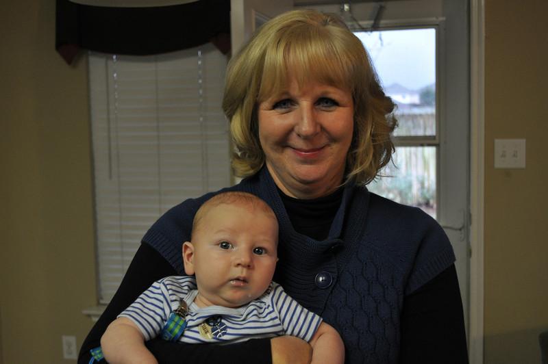 Honorary Grandma Linda with Master Jack in Houston, TX