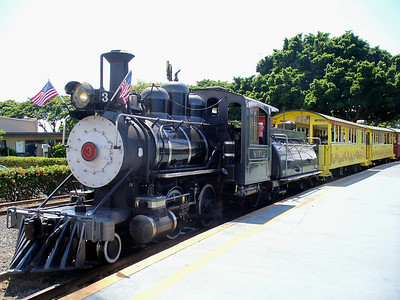 Lahaina Sugar Cane Train