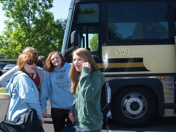 Nichole, Jess, Rachel & Lydia on AM of Choir Trip to Bermuda