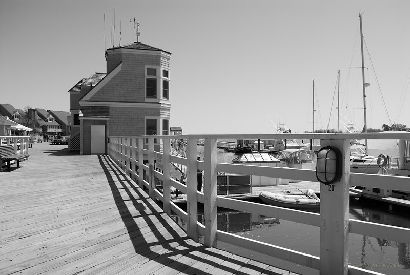 Wentworth by the Sea<br /> New Castle, NH<br /> The marina.