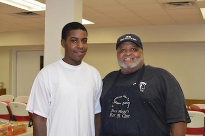 Marcus Lark & Wilbur Davis