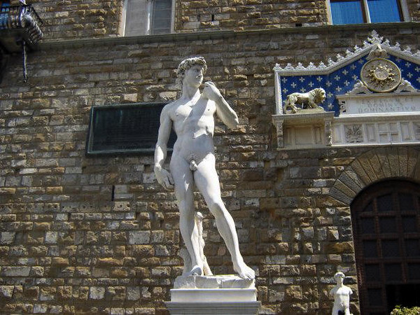 FIRENZE - FLORENCE - MICHAELANGELO'S DAVID - COPY