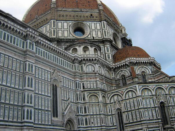 FIRENZE - FLORENCE - DUOMO CATHEDRAL OF FLORENCE - DETAILS