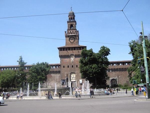 MILANO - SFORZESCO CASTLE