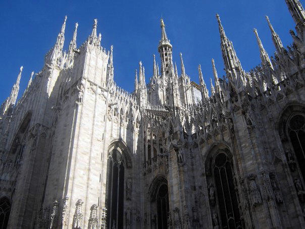 MILANO - DETAILS OF DUOMO OF MILANO CATHEDRAL