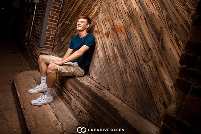 071717 PJ Weigel  Senior Portrait Session