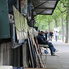 Day 1- Street stalls along the Seine