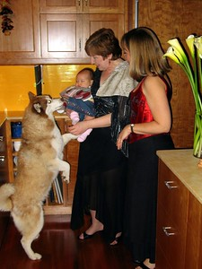 Unix checking to make sure Susan is holding the baby okay