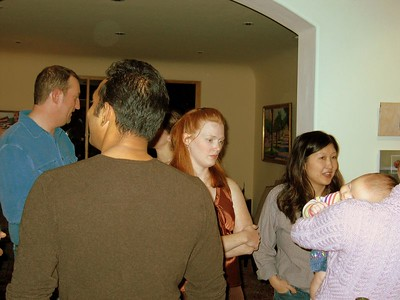 Todd, Ranga, Alicia, Lucy, Anna (on Kristi's shoulder)