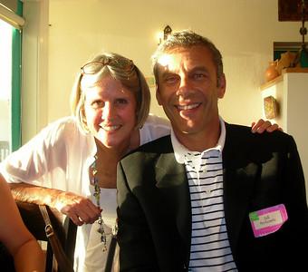 Sally Landis and Bill Berkowitz