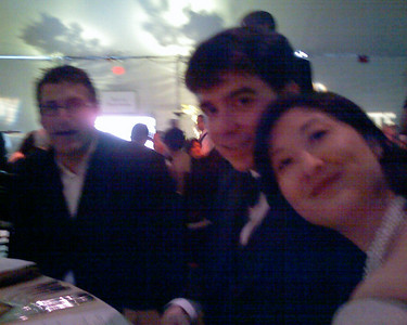 Eric, Sam, and Lucy at the Ultra-Fun Table 20