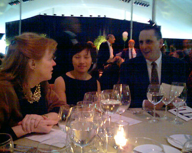 Nancy, Anh, and Paul at the Ultra-Fun Table 20