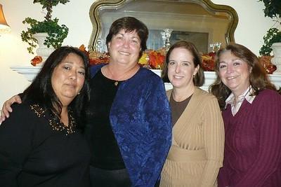 CAPE Friends Laura, MP, Monica, Diana
