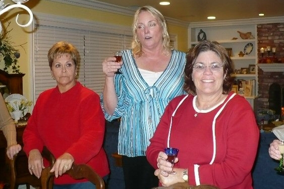 Sharon, Cathy, Jeanne