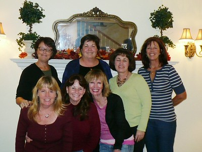 Class of '71 Joan, Colleen, Sue, MP, Kellie, Mary, Julie