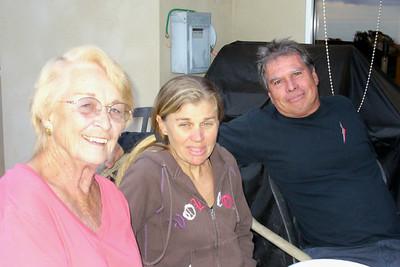Mom, Patty, and Sam