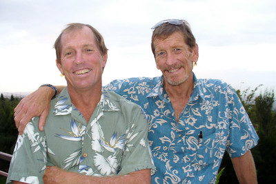 Dave and his brother Tom