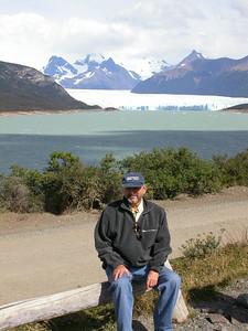 Arturo en el glaciar PERITO MORENO - CARA SUR