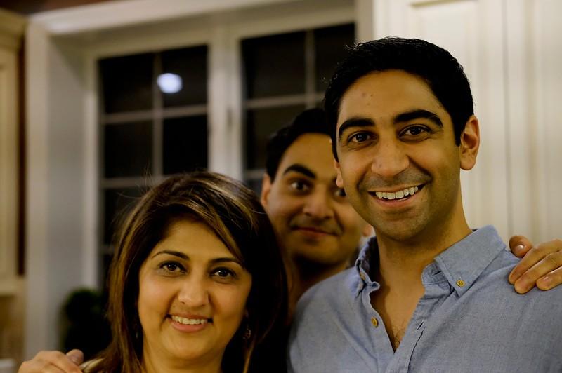 Shreya, Neel & Parth Patel
