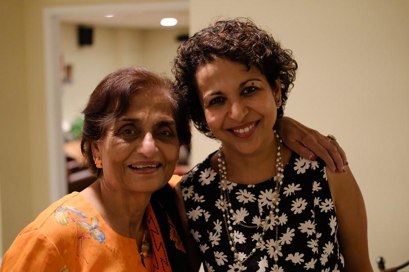 Anuja and Mom