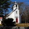 the church at Brookville  usa