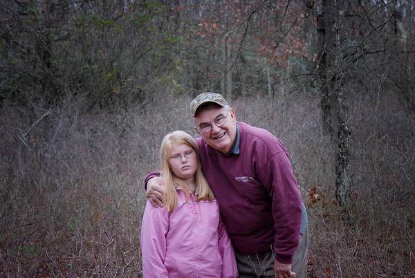 pop and grandaughter