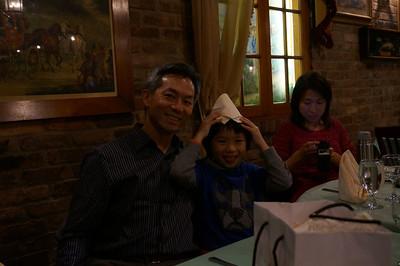 Paul's Birthday Dinner--November 2012