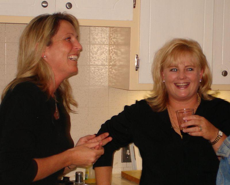 Kandy and Lisa B