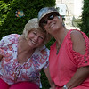 Sue and Peggy at her back yard party