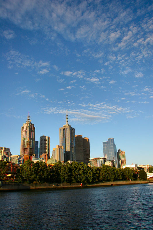 "The Melbourne skyline from the boat just as it was leaving Southbank.<br /> <br /> The cruise is run by Penguin Waters:<br /> <a href=""http://www.penguinwaters.com.au"">http://www.penguinwaters.com.au</a>"