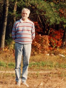 Wayne during a foliage visit to Boston