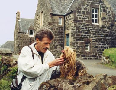 Alan, my Scottish traveling companion and tour guide during my Scotland trip and lecture tour in 1990.