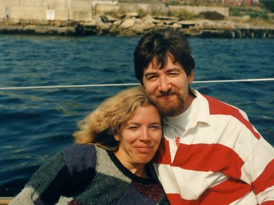 Tracy and Marc on vacation