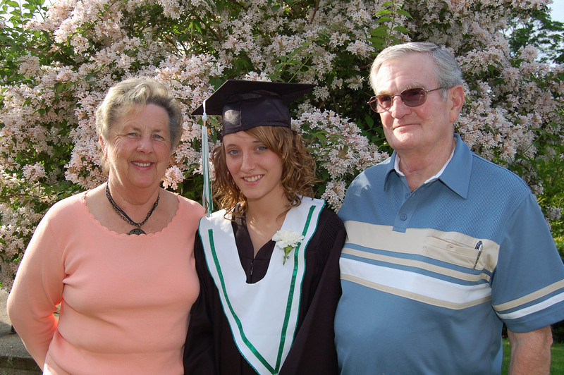 Graduation Day, Phyllis, Kaslyn and Tom