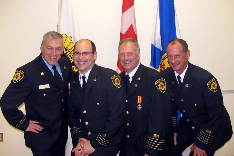 Friends in firefighting
