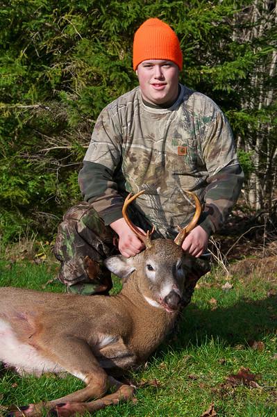 Colt's first deer