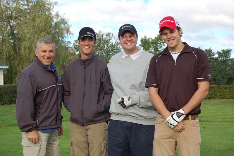 Michelin Golf .... Brian, Bill,Tim, and Brian