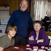 Pete, Mary Ellen & Taylor, April 2009<br /> SkipBo challenge