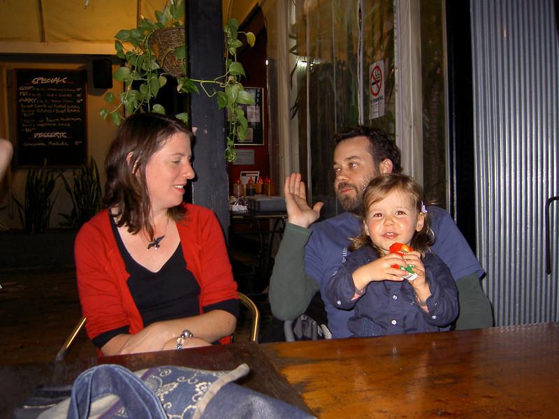Holly, David, Zoe