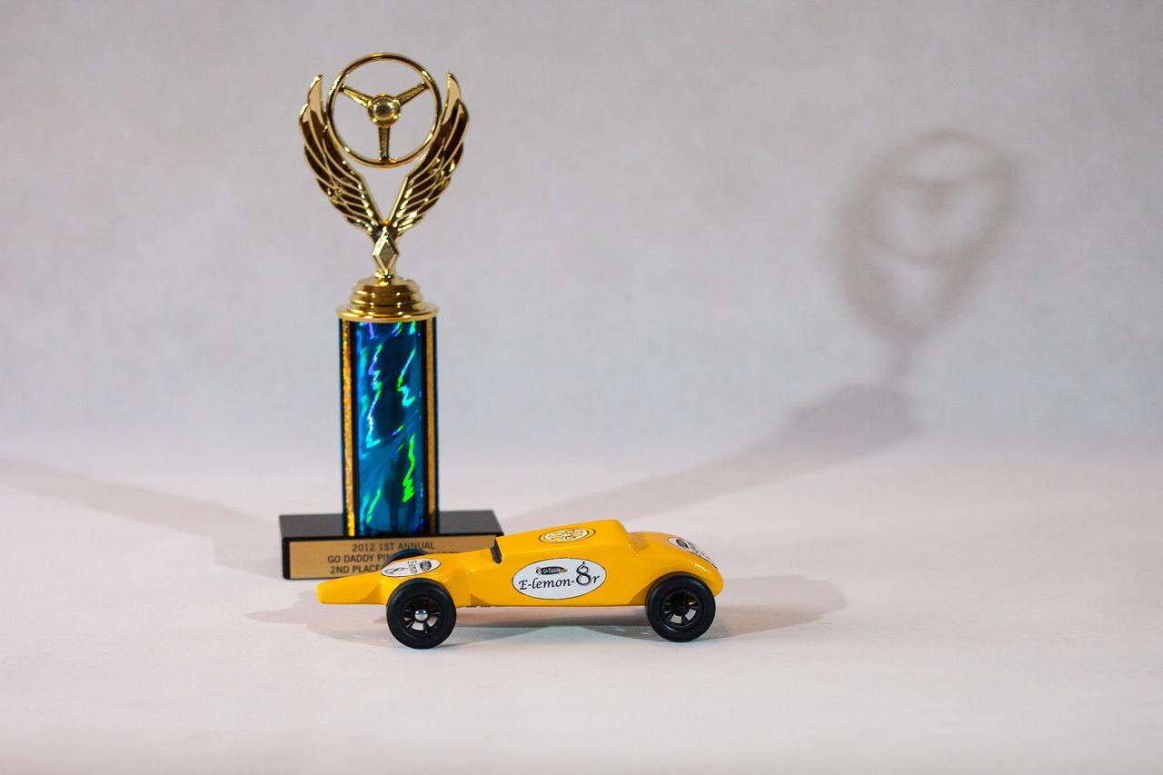 E-lemon-8r and trophy.
