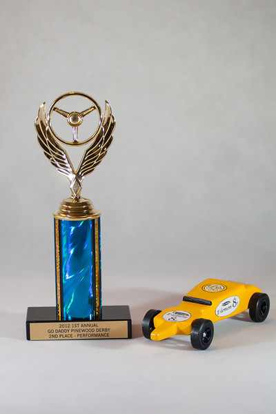 E-lemon-8r and trophy.