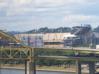 Heinz Field in the distance.
